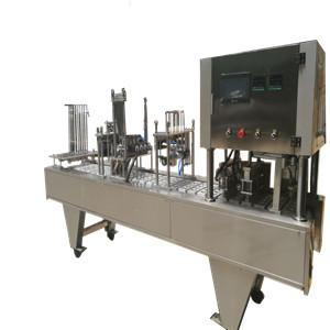 China made nespresso capsule pods coffee filling and sealing machine to USA