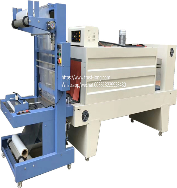 Guangzhou semi automatic shrink wrapping packing machine